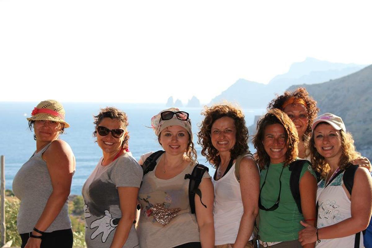 Antonella, Claudia, Marisa, Valentina, Katia e Milena