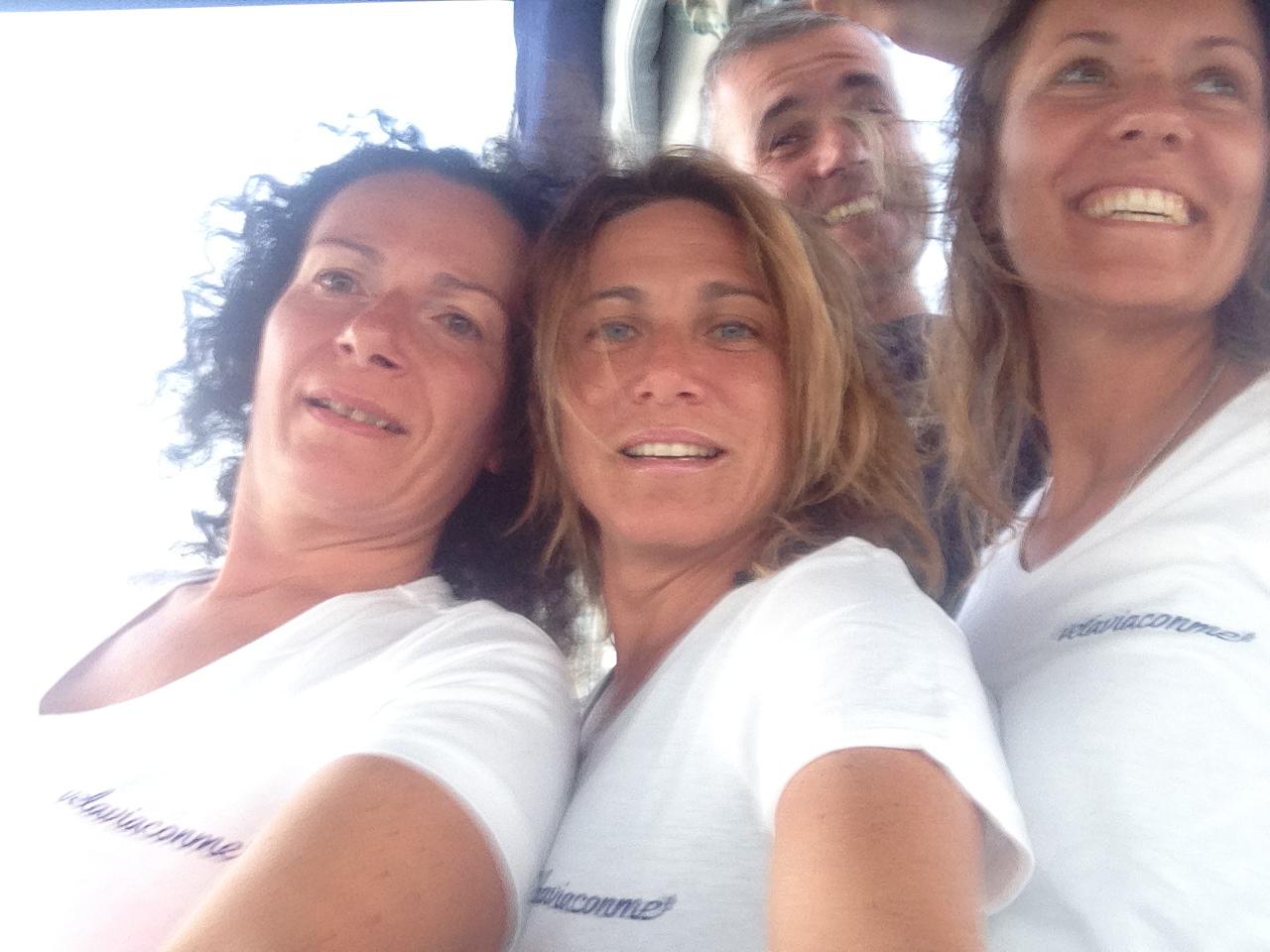 Chiara, Sandra e Luigi