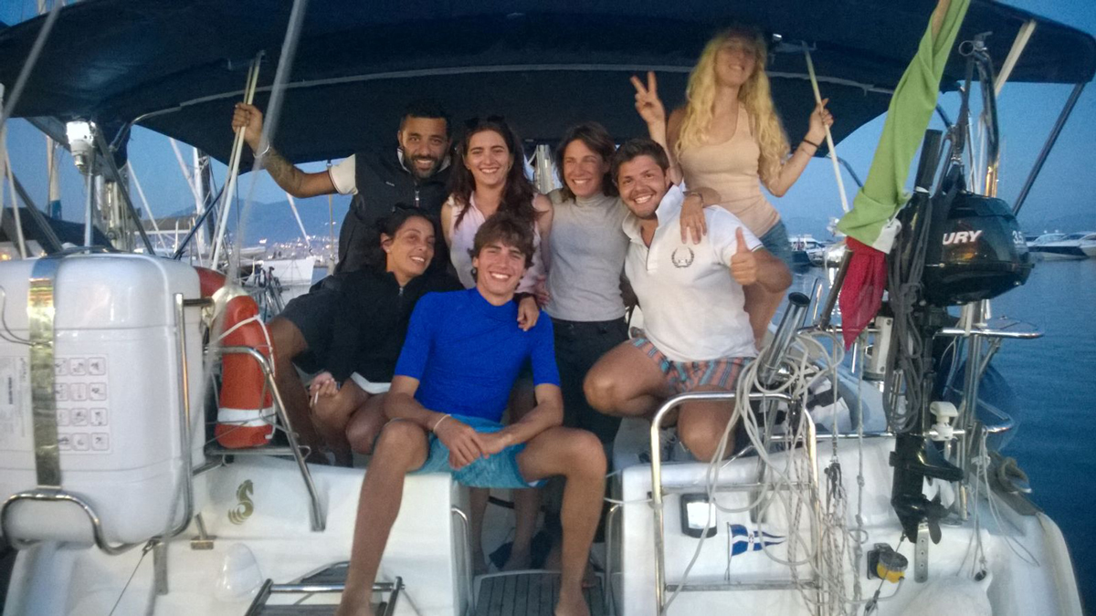 Davide, Andrea, Martina, Emma, Paola e Giacomo