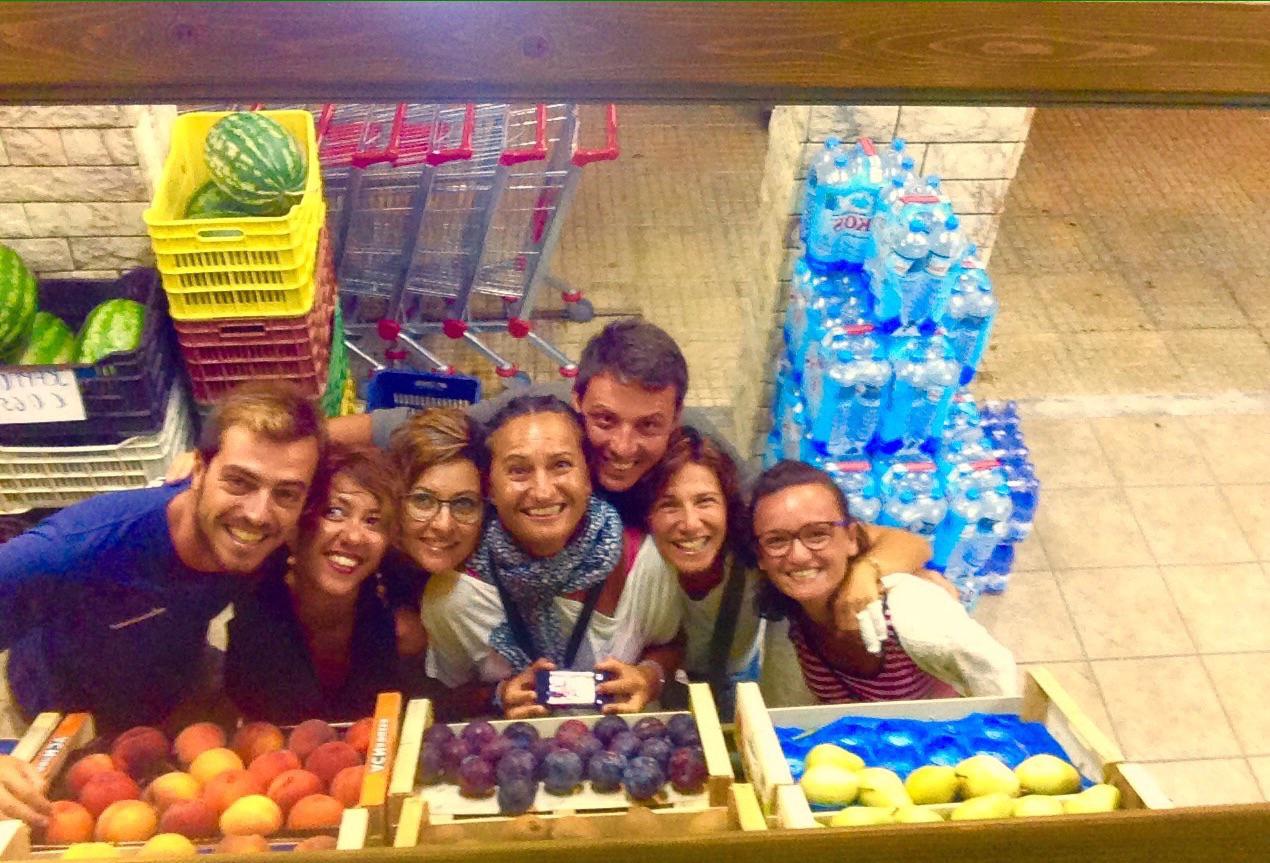 Marco, Gianluca, Manuela, Rosella e Maria