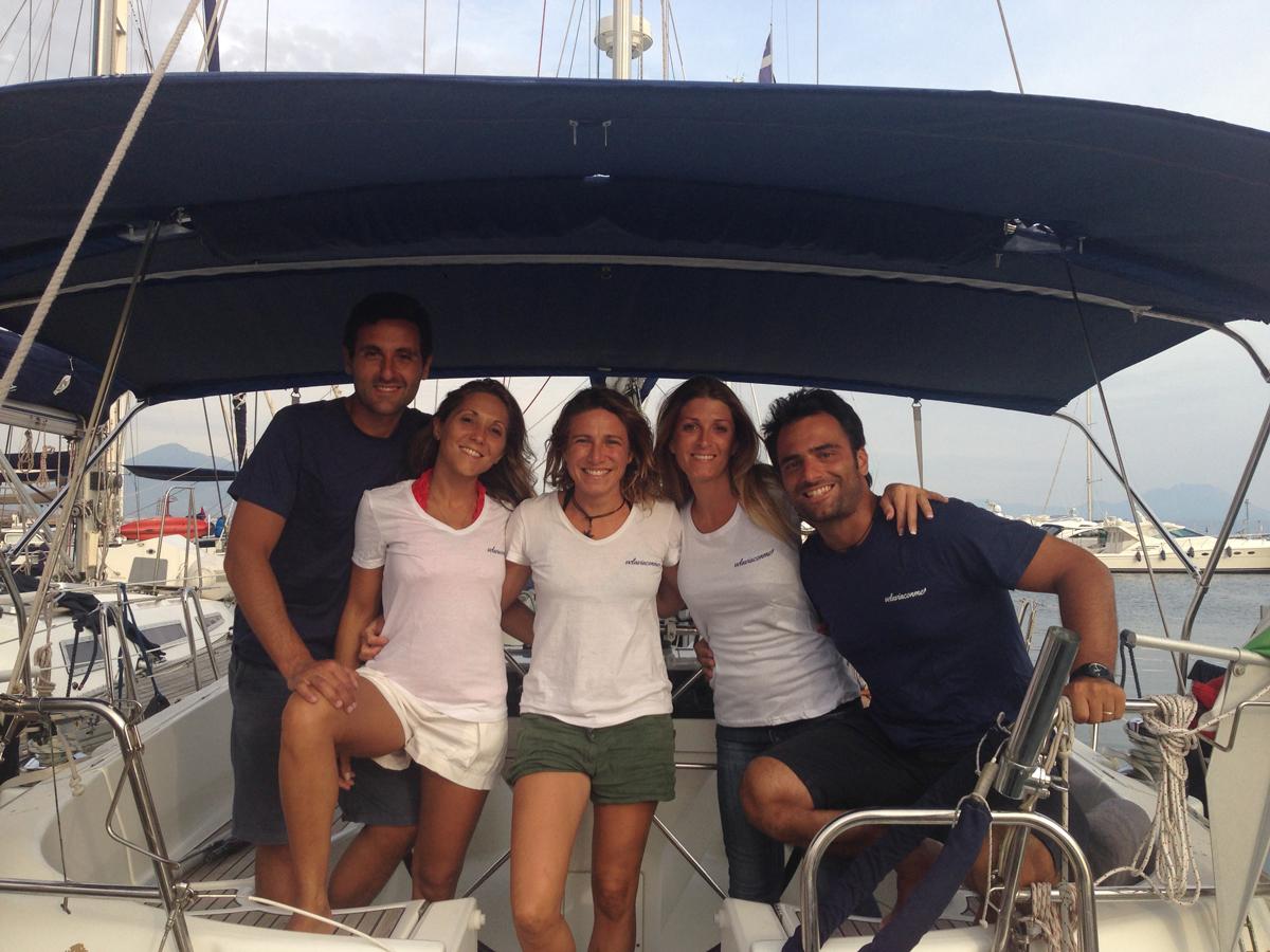 Valentina, Andrea, Ambra e Dario