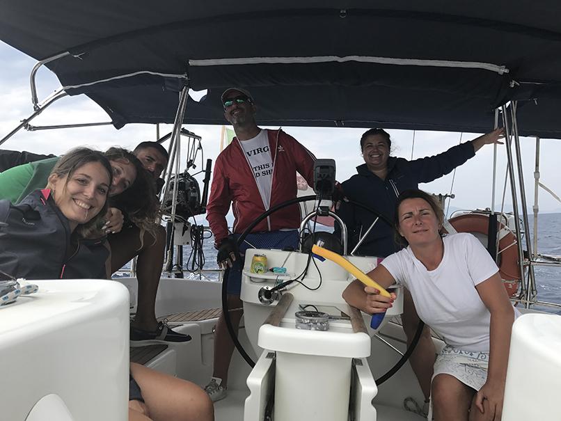 Aldo, Alessia, Marco, Manuela, Desirée, Ester