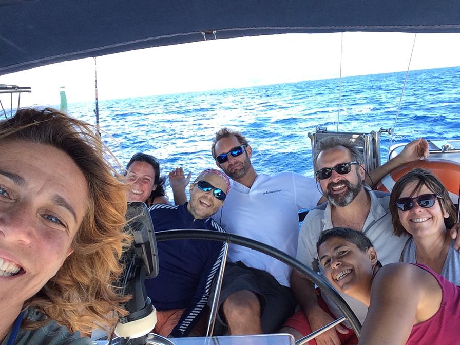 Alessandra, Adolfo, Lara, Martina, JeanMarc, Thibaut