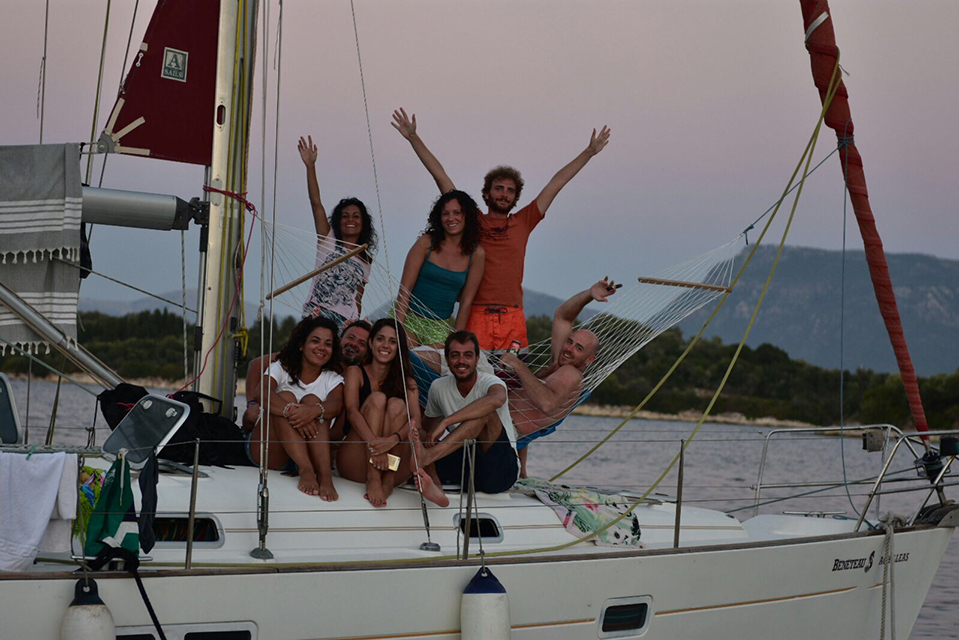 Angela, Roberta, Josh, Claudia, Tiziana, Guseppe, Teresa