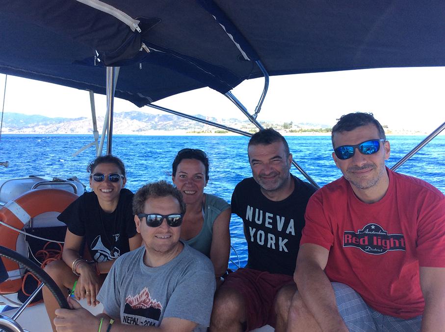 Fabrizio, Rosalia, Andrea, Marco, Alessandra