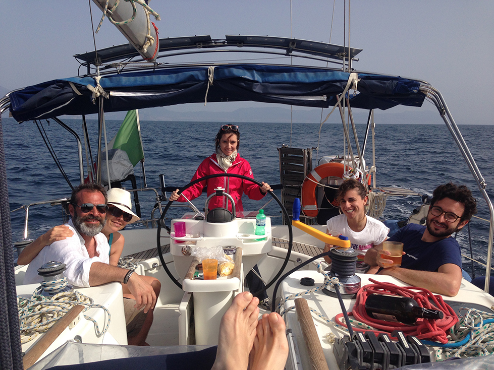 Massimiliano, Sonia, Laura, Vincenzo, Mary
