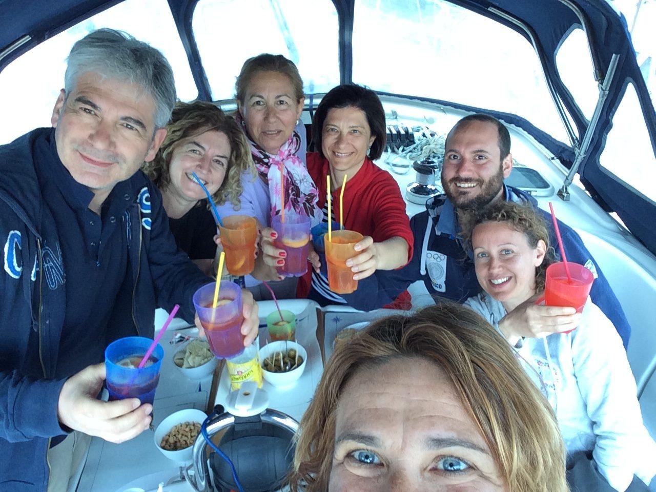 Giacomo, Giulia, Pasquale, Rosaria, Annamaria, Clorinda