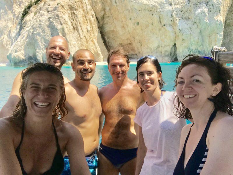 Alfredo, Davide, Emanuela, Giulia, Lorenzo