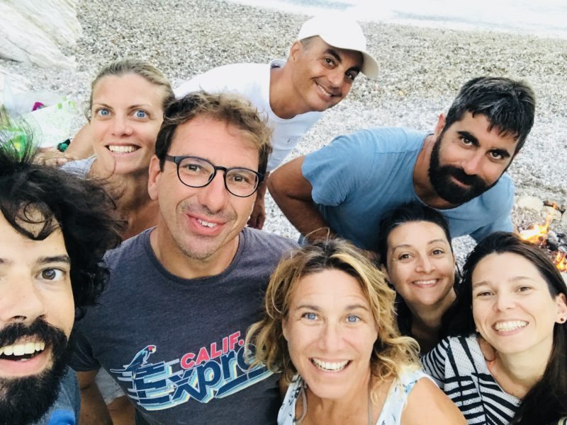 Alfredo, Diana, Francesca, Luis, Mattia, Paola, Vincenzo